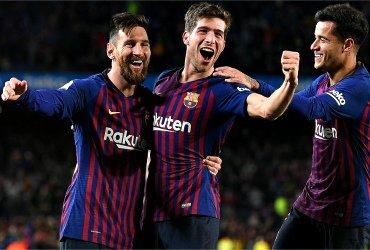 Как Барселона деклассировала пятикратного победителя Лиги Европы